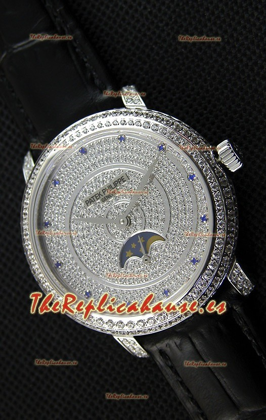 Patek Philippe Complications 4968/G Reloj Réplica Suizo Caja en Acero
