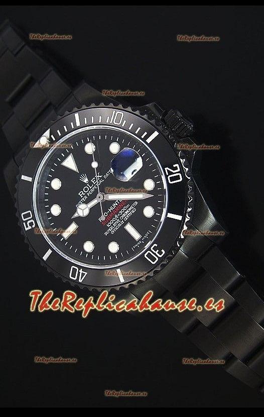 Rolex Submariner Pro Hunter Bisel de Cerámica Reloj Replica Escala 1:1