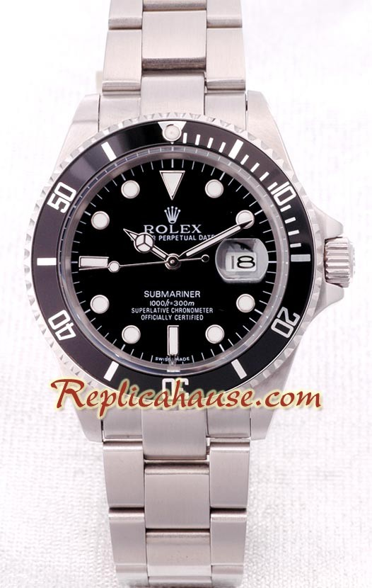 Rolex Submariner Suizo Stainless Réplica Steel Reloj 6fYb7gy