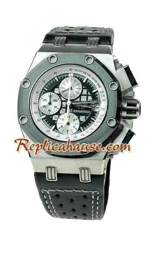 8433345c186 Audemars Piguet Royal Oak Offshore Titanio Rubens Barrichello Edición  Limitada Reloj Suizo