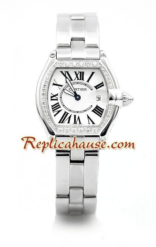 9078cf4bcdc9 Cartier Roadster Dama Reloj Réplica RHSP871 para  229