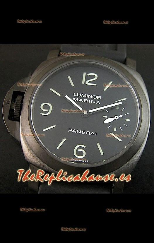 1ef4f6df029e Panerai Luminor Marina PAM026 Réplica Suiza – 1 1 Réplica Espejo – Versión  para zurdos