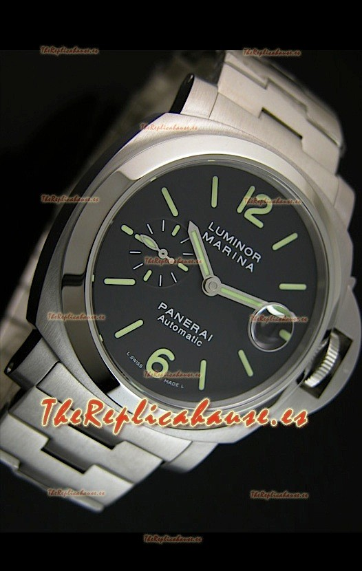 31eff0ae9056 Panerai Luminor Marina PAM299K Reloj Suizo con Malla de Acero RH-ES ...