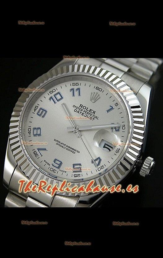 e9c175238d9a Rolex Réplica Datejust Mens Reloj Japonés con Números Arabes en la Carzasa  – 41 MM
