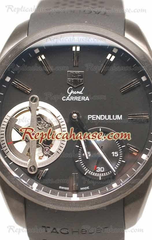 eb594d631bd6 Tag Heuer Gry Carrera Pendulum Reloj Suizo de imitación RHSP4493 ...