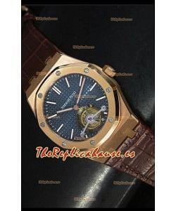 Audemars Piguet Royal Oak Reloj Suiso Tourbillon, Caja en Oro Rosado