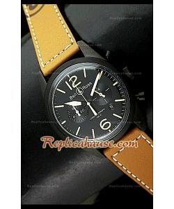 Bell y Ross BR94 Aviation Type Reloj Japonés