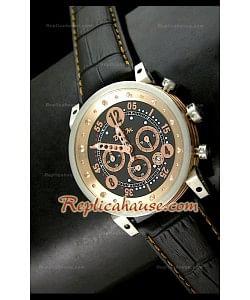 B.R.M V Series Reloj Japonés en Oro