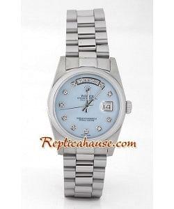 Rolex Réplica Day Date Silver
