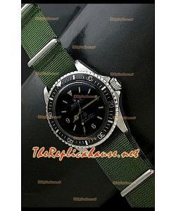 Reloj Rolex Oyester Perpetual japonés estilo militar.