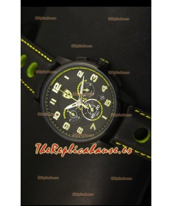 Scuderia Ferrari Heritage Reloj Cronógrafo en Acero Negro