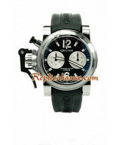 Graham Overtamaño Chronofighter Reloj Suizo de imitación