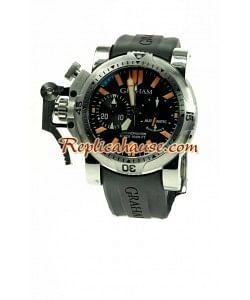 Graham Chronofighter Overtamaño Diver Reloj Suizo