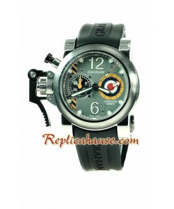Graham Chronofighter Overtamaño Mark III Reloj Suizo