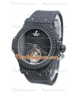 Hublot Black Caviar Tourbillon Reloj