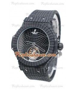 Hublot Black Caviar Tourbillon Reloj