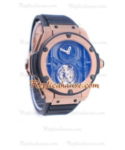 Hublot King Power Vendome Manufacture Tourbillon Rose Gold Reloj
