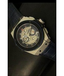 Hublot Big Bang King Reloj de Cuarzo Suizo en Acero Dial tipo Skeleton 45MM