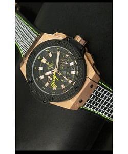Hublot Big Bang Guga Tennis Reloj de Cuarzo Suizo 45MM