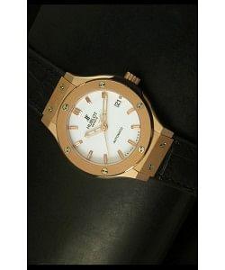 Hublot Classic Fusion Reloj Suizo en Oro Rosado 39MM