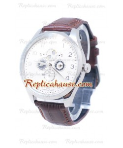 IWC Portuguese Grye Complication Silver Reloj