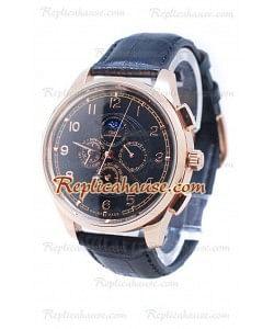 IWC Da Vinci Perpetual Calendar Cronógrafo Gold Reloj
