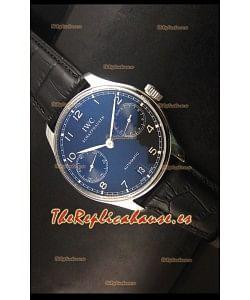 IWC Portugieser IW500703 Reloj Suizo Automático en Dial Blanco - Réplica Espejo Actualizada 1:1