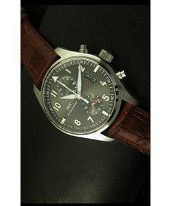 IWC Spitfire Reloj Edición Cronógrafo - Réplica a Escala 1:1
