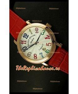 Franck Muller Master of Complications Liberty, Reloj Japonés, Números Arábicos