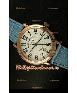 Franck Muller Master of Complications Liberty, Reloj Japonés, correa azul