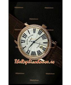 Franck Muller Master of Complications Liberty, Reloj Japonés, correa marrón