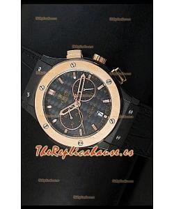 Hublot Classic Fusion Chrono, Reloj Réplica Japonés en Cuarzo Dos Tonos