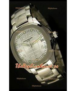 Patek Philippe 5167 Aquanaut Jumbo Reloj Réplica Suiza - réplica en escala 1:1, Dial Blanco