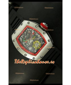 Richard Mille RM002 Power Reserve Tourbillon Reloj Réplica Suiza en Acero