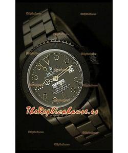 Rolex Submariner Edición STEALTH MK IV Reloj Réplica Suiza, correa con recubrimieto en PVD