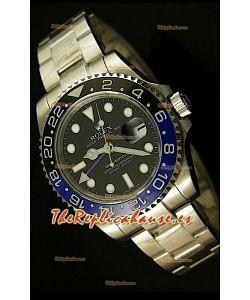 Rolex GMT Masters II, Reloj Réplica Suiza - réplica definitiva en escala 1:1