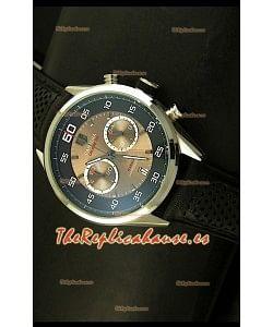 Tag Heuer Carrera Calibre 36 Flyback, Reloj Réplica, Dial Blanco - Movimiento de Cuarzo