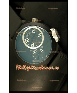 Welder K23 Duo Side, Reloj Réplica Japonesa caja con recubrimiento PVD