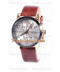 Mont Blanc Classic Flyback Cronógrafo Reloj Réplica