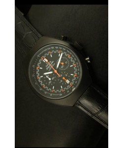 Omega Speedmaster MARK II Co-Axial Cronógrafo Caja revestida de PVD