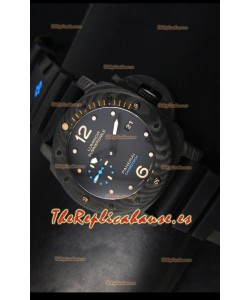 Panerai Luminor 1950 Submersible PAM616 Carbotech Reloj Suizo Réplica Espejo 1:1