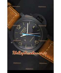 Panerai Luminor PAM00580 1950 3 Days Chrono Flyback Reloj de Cerámica Movimiento P.9100