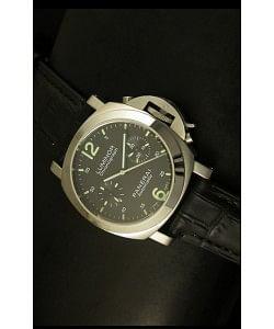 Panerai Luminor PAM310 - Reloj Cronógrafo Dial Negro 40MM