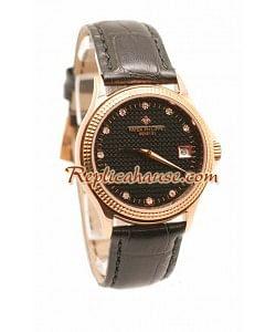 Patek Philippe Geneve Reloj Réplica - Oro Rosa