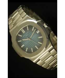 Patek Philippe Nautilus 5711 Reloj Suizo Jumbo color Azul - Ultima Edición Réplica Escala 1:1