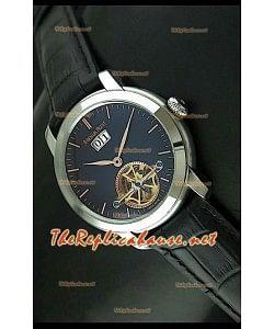 Edición japonesa del reloj de esfera negra Audemars Piguet Jules Audemars