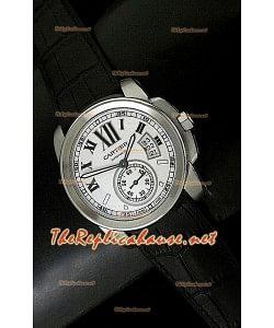 Swiss Calibre De Cartier Reloj Réplica- Última Réplica a Escala 1:1
