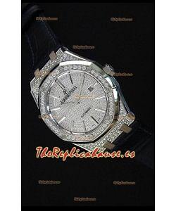 Audemars Piguet Royal Oak 15452BC.ZZ.1258BC.01 37MM Reloj en Acero a escala 1:1