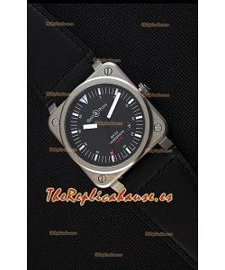 Bell & Ross BR03-92 Horograph Reloj Réplica a Espejo 1:1 - Dial Negro Correa de Piel Suiza
