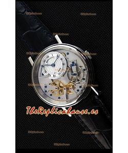 Breguet Tradition 7057BB/11/9W6 Reloj Réplica Suizo a Espejo 1:1 en Oro Rosado con Dual Tourbillon